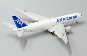 "ANA(All Nippon Airways) Cargo Boeing 777-200F(LR) ""Flap Down"" Reg JA77IF 1/400 Scale Diecast Metal Aircraft Model Jcwings EW4772010A"