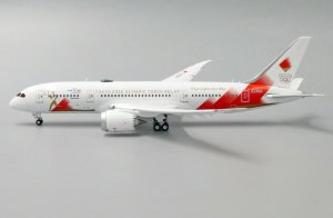 Tokyo 2020 Olympic Torch Relay Boeing 787-9 Dreamliner Flaps Down Version Reg JA837J 1/400 Scale Diecast Aircraft Model Jcwings EW4788003A