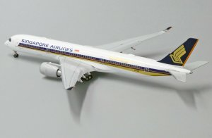 Singapore Airlines Airbus A350-900XWB 10,000th Airbus Aircraft Flaps Down Version Reg 9V-SMF 1/400 Scale Diecast Metal Aircraft Model Jcwings XX4857A