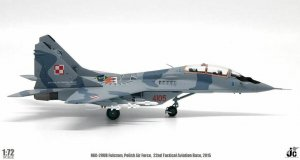 Polish Air Force, 22nd Tactical Aviation Base, May, 2015 MiG-29UB Fulcrum Diecast Metal Aircraft Model 1/72 Scale Jcwings JCW-72-MG29-007