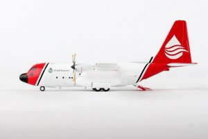 Oil Spill Response C-130A Hercules (L-182) N121TG With Stand 1.200 Scale Aircraft Model Inflight200 IF130OSRA01