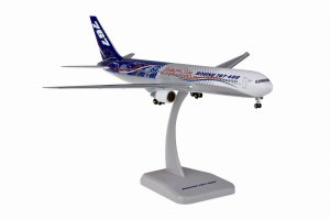 "Boeing 767-400 ""LEADING THE WAY"" Reg N76400 1.200 Scale Miniature Aircraft Model Hogan HG2315GR"