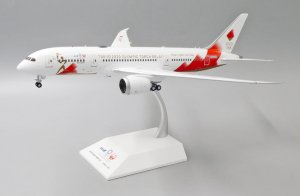 Torch Relay Boeing 787-8 Dreamliner Reg JA837J 1/200 Diecast Metal Model Jcwings EW2788001