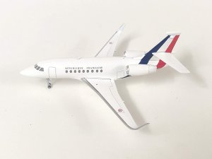 French Air Force Dassault Falcon 2000 1.200 Scale Diecast Metal Aircraft Model Hogan HG5842