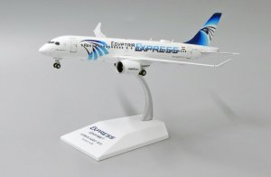Egyptair Airbus A220-300 Reg SU-GEX 1/200 Scale Diecast Metal Aircraft Model Jcwings LH2230