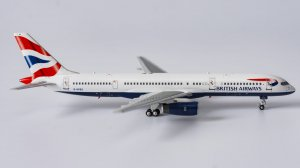 "British Airways Boeing 757-200 ""Union Flag"" colours Reg G-CPES 1/400 Scale Diecast Aircraft Model NGModel 53093"