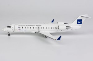 Scandinavian Airlines - SAS Bombardier CRJ-100LR Reg OY-RJI Operated by Cimber Air Livery 1/200 Scale Diecast Aircraft Model NGModel 51016