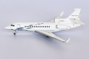 Volkswagen Air Services Dassault Falcon 7X Reg D-AGBF 1/200 Scale Diecast Aircraft Model NGModel 71005