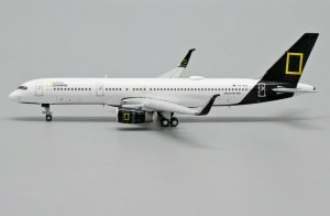 Icelandair Boeing 757-200 (National Geographic livery) Reg TF-FIS 1/400 Scale Diecast Metal Aircraft Model Jcwings XX4398