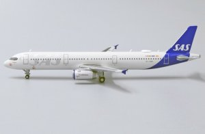 Scandinavian Airlines Airbus A321 Reg OY-KBH 1/400 Scale Diecast Metal Aircraft Model Jcwings XX4257