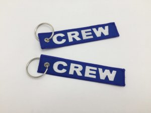 CREW TAG KEYRING BLUE COLOR