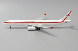 "Garuda Indonesia Airbus A330-300 ""Retro Livery"" Reg PK-GHD 1/400 Scale Diecast Metal Aircraft Model Jcwings XX4209"