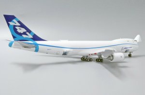 House Colors Boeing 747-8F Interactive Series Reg N50217 1/400 Scale Diecast Metal Aircraft Model Jcwings LH4169C