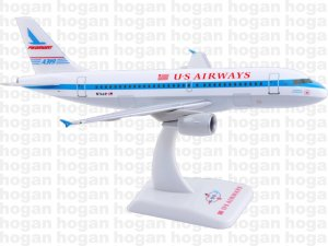 "US Airways Airbus A319-100 ""PIEDOMONT"" N744P New colors 1.200 Scale Hogan HG3589GR"