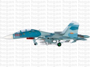 Vietnamese Peoples Air Forces Sukhoi SU-27UB 1.200 scale aircraft model Hogan HG6023