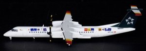 Tyrolean Airways DASH8-Q400 Star Alliance 1/200 Diecast Airplane Model XX2587