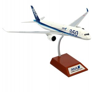 A350-900 ANA - Flaps Down JA359A with stand 1/200 Scale Diecast Aircraft Model Jfox