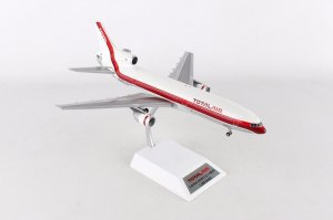 Total Air Lockheed L-1011 N702TT With Stand LIMITED 72 MODELS  Diecast Aircraft Model