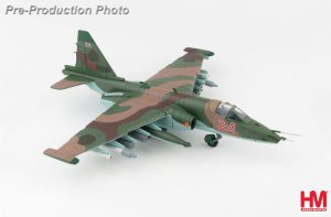"Sukhoi Su-25 SM ""Frogfoot"" Red 24, Russian Air Force, Latakia Air Base, Syria, November 2015 Diecast Aircraft Model 1.72 Scale Hobbymaster HA6101"