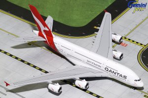 Qantas Airways Airbus A380-800 (New Livery) VH-OQF 1.400 Scale Aircraft Model Geminijets GJQFA1783