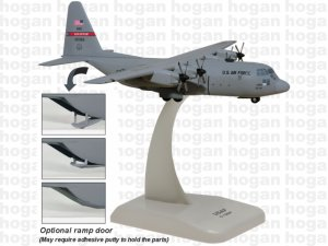 US Air Force Hercules C-130H 51361 Georgia Air National Guard 1.200 scale aircraft model Hogan HG7945