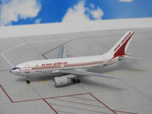 Air India Airbus A310-300 VT-EJG 1/400 Scale Diecast Metal Aircraft Model Aeroclassics
