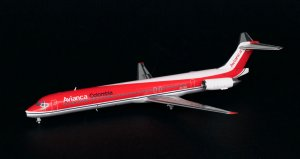 Avianca Airways Mcdonnell douglas MD83 OC 1/200 Scale Diecast Metal Aircraft Model Jcwings XX2901