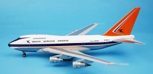 South African Airways  Boeing 747SP ZS-SPE Polished With Stand 1/200 Scale Diecast Aircraft Model
