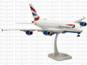 British Airways Airbus A380 1.200 scale aircraft model HG0298GR