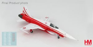 "Northrop F-5E Tiger II Patrouille Suisse ""55th Anniversary"", 2019 Diecast Aircraft Model 1.72 Scale Hobbymaster HA3335"