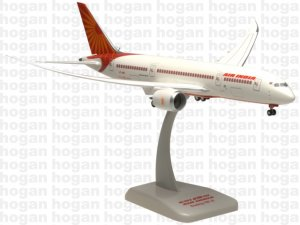 Air India Boeing 787-800 Dreamliner new livery Inflight with gears 1.200 scale HG096GR