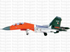 "Indian Air Force Sukhoi SU-30MK-1,24TH SQUADRON ""HUNTING HAWKS"" SB008 1.200 scale aircraft model HG6054"
