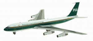PIA Cargo Boeing 707-300 AP-AXG 1/200 Scale Diecast Metal Aircraft Model INFLIGHT200