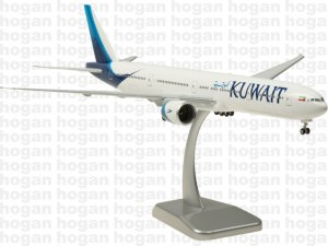 Kuwait Airways New Colors Boeing 777-300ER Reg 9K-AOC 1.200 scale Aircraft Model Hogan HG10680