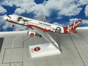 Air Asia India JRD Tata Airbus A320 1/150 Scale