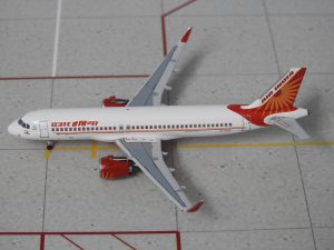 Air India Airbus A320 NEO VT-EXF 1/400 Scale Diecast Metal Aircraft Model Aeroclassics