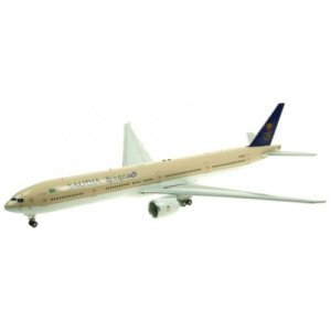 Saudi Arabian Airlines Boeing 777-300/ER HZ-AK27 With Stand LIMITED 72 MODELS 1/200 Scale Diecast Airplane model