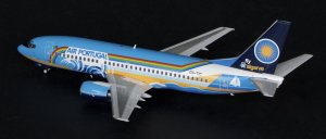 "TAP Portugal Boeing B737-300 ""FLY ALGARVE"" CS-TIC 1/200 Scale Diecast Metal Aircraft Model Jcwings"