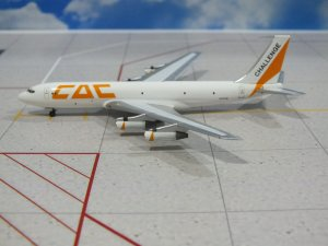 CAC Cargo Boeing 707300 N707HE 1/400 Scale Diecast Metal Aircraft Model Aviation400 AV4707016