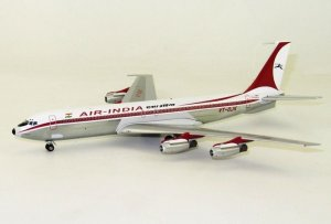 Air-India Boeing 707-400 VT-DJK Polished 1/200 Scale Diecast Metal Aircraft Model Inflight200