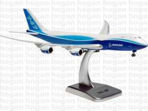 House Colors Boeing 747800F 1/400 Scale Diecast Metal Aircraft Model Hogan 8164