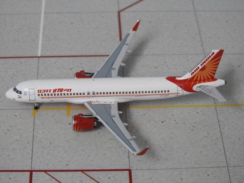 Air India Airbus A320 NEO VT-EXF 1/400 Scale Diecast Metal Aircraft Model  Aeroclassics